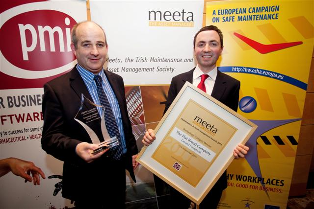 MEETA 2011: Gerard Naughton (Maintenance) and Kieran Walsh (Managing Director) of the Flat Bread Company
